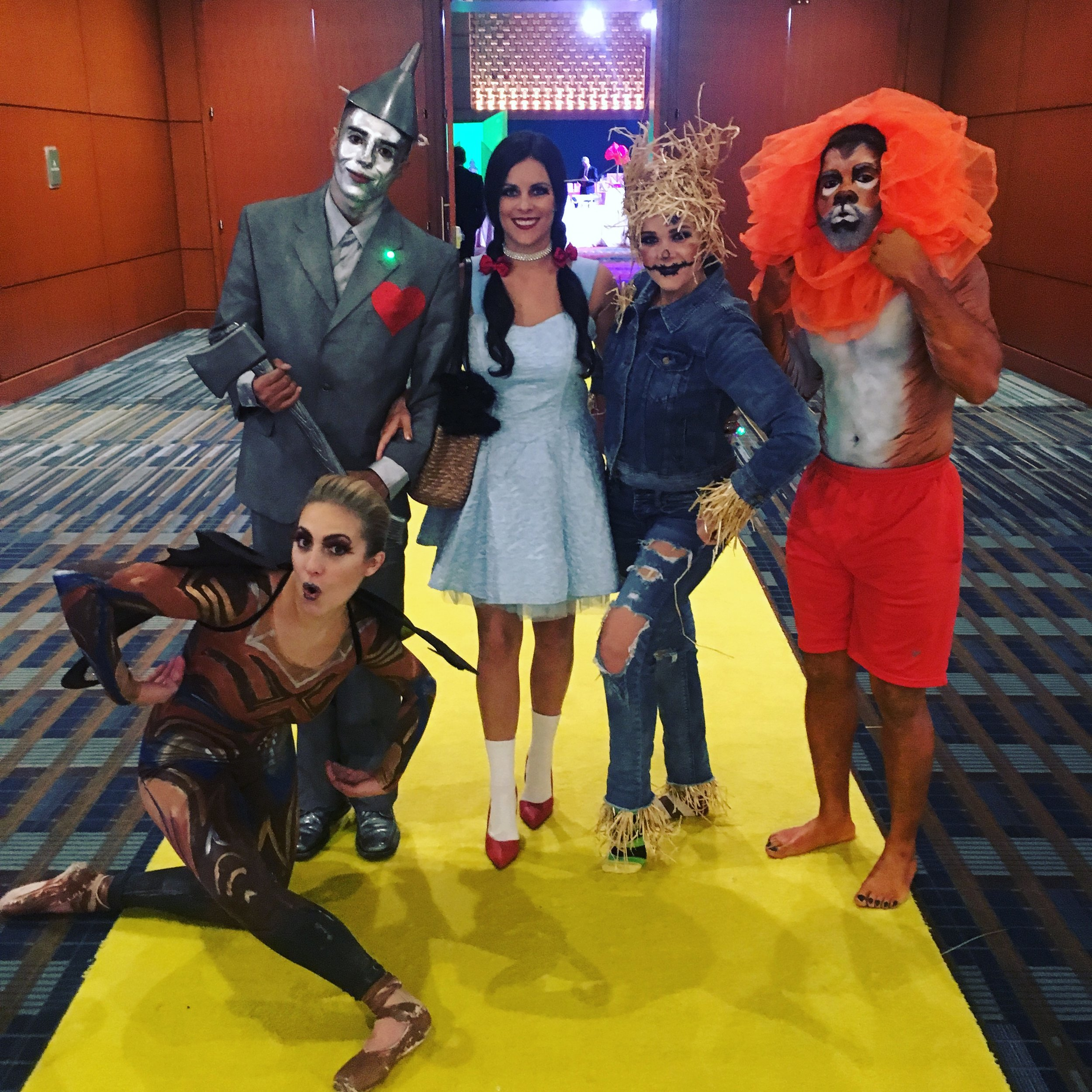 Costume Characters for hire Raleigh
