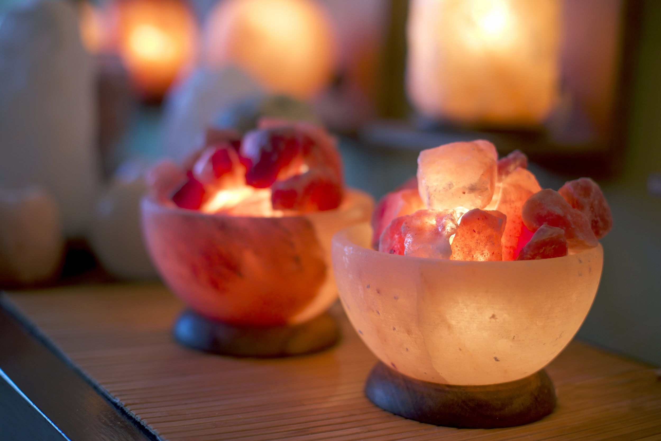 So Well Serenity Himalayan Salt Bowl