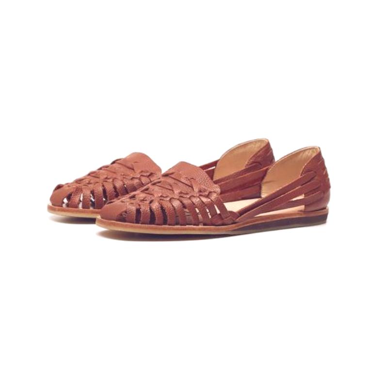 NISOLO    Ecuador Huarache Burnt Sienna Sandal