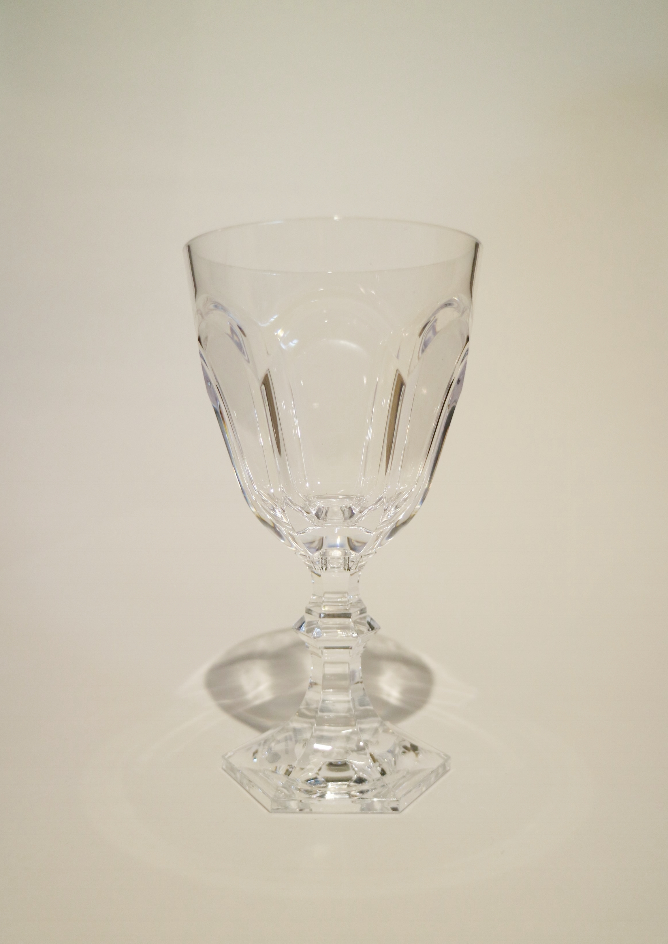 Italian Synthetic Crystal Wine Glasses