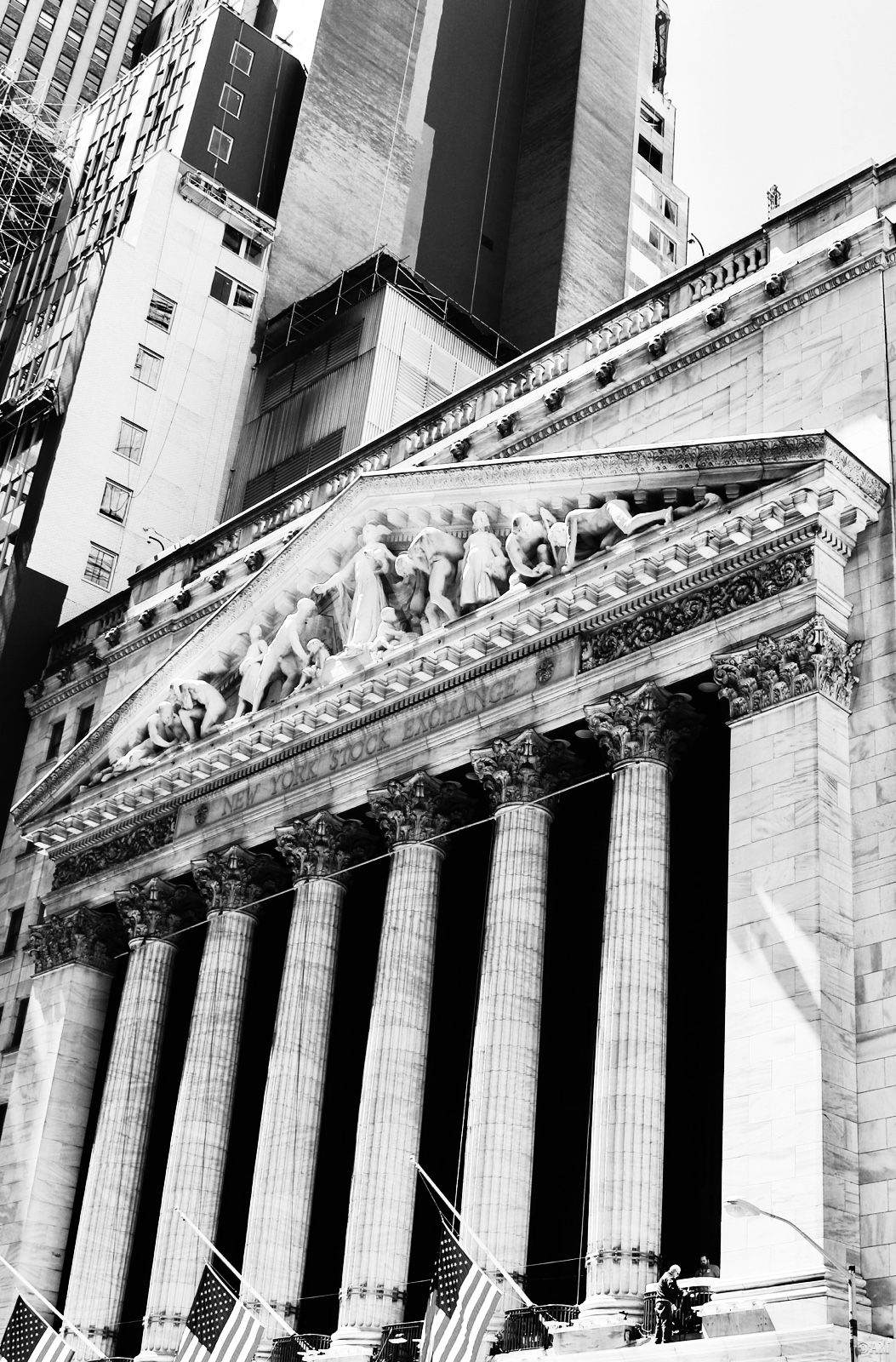 The New York Stock Exchange is the   world's largest stock exchange.