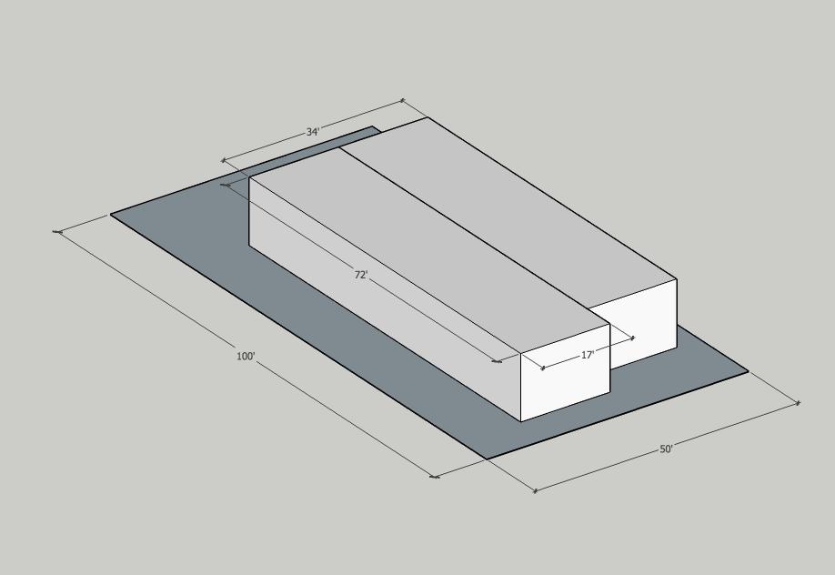 Building Data:  Neighborhood: Irvington Year Built: 1949 Typology: Duplex/Cryptoplex Units: 2 Stories: 1 Site Area: 5,000sf Building Area: 2,476sf FAR: 0.5:1 Density: 17.5 du/net acre Zoning: 1 (1du/5000sf of site area) Is it Legal? YES