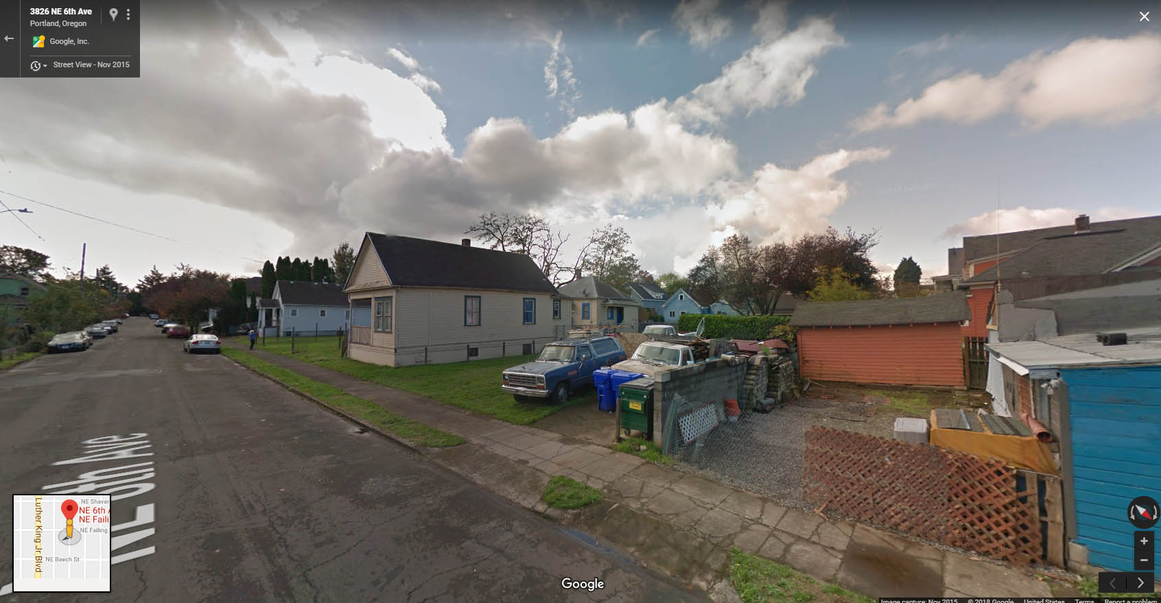Google Street View of Site, facing SW