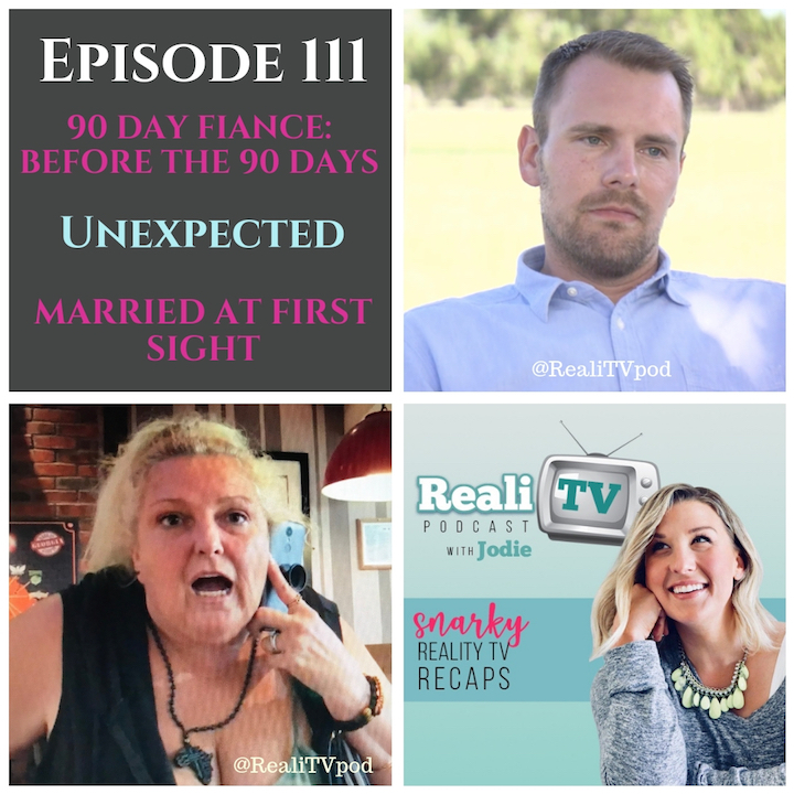 EPISODE 111 10.11.18 - 90 Day Fiance: Before the 90 Days (0:00) continues to bring it each and every week! From Ang's negative bank balance to Darcey channeling Sharon Stone, I'm going to break it down for you. TLC surprised us with a 2-hour long episode of Unexpected (28:57), but thankfully we were spared double the scenes of both Diego AND Max. Praise a baby Duggar! Feeling like it's been a lifetime over ON Lifetime, we're still suffering through Married at First Sight (52:13).I love Lola products! Use my code mentioned in the podcast at www.mylola.com for 40% off subscriptions!Shop www.poshmark.com with referral code REALITV for $5 off your purchase!