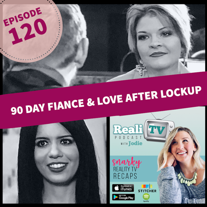 Episode 120: 90 Day Fiance & Love After Lockup 12.13.18 - It's my dream lineup of shows! 90 Day Fiance did what politicians haven't been able to do: bring America together…in despising Leida & Eric. Love After Lockup returns with new couples and potential for an explosive season. Speaking of explosive, Jodie shares her tragedy-turned-holiday miracle at the start of the show. Sharp Entertainment Bless Us Everyone!GIVEAWAY DETAILSLeave a review on Troy's Podcast & Screenshot:https://tinyurl.com/y73gtygjLeave a review on RealiTV & Screenshot:https://tinyurl.com/y7ah9bktEmail to jodie@Realitvpodcast.com to be entered to win an item of your choice on www.tasteofreality.com !!!!Shop www.poshmark.com with referral code REALITV for $5 off your first purchase.Save $50 off your first order of Green Chef! I'm a regular subscriber myself now & love their meals. www.greenchef.us/realitv