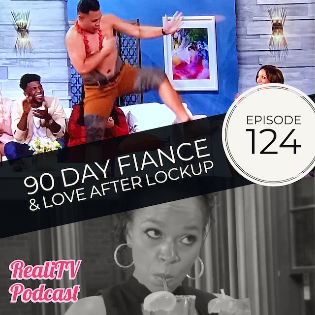 EPISODE 124: 90 Day Fiance Tell All Part 2 & Love After Lockup 01.17.19 - I have so much to tell you about exciting things coming up and of course the 90 Day Fiance Tell All Part 2. Asuelu's hips don't lie as he delighted us with his sweet moves, while Leida and Eric took the opportunity to enroll themselves in to the RealiTV FUCK OFF Camp. Fellow campers include Evelyn. Love After Lockup continues to issue warnings about sketchy roadside diners and I take issue with rusty apple peelers.Link to my new podcast where YOU assign my cohost Amanda and me to watch what YOU ask us to!www.patreon.com/amandaandjodieNEW MERCH with Stay Salty Donut logo & Salty Beach starfish for my classy salty bitches ;) www.realitvpod.threadless.comhttps://www.zazzle.com/realitvpodcast