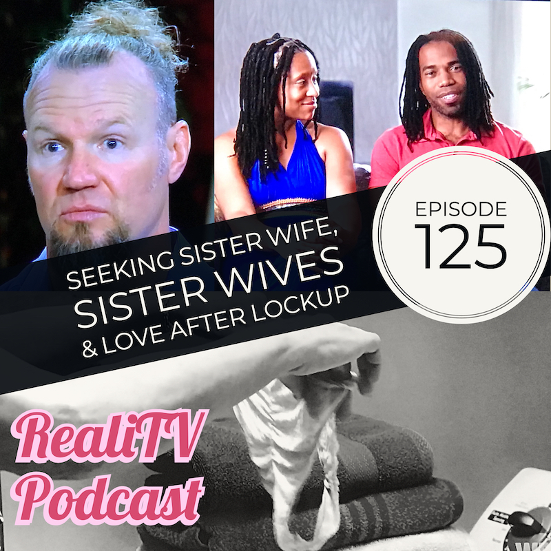 Episode 125: Seeking Sister Wife, Love After Lockup & Sister Wives 01.24.19 - First things first, what's happening with RHOA, RHOB, and most importantly, Meghan Markle. Ahem, Your Highness… Seeking Sister Wife (16:36) debuted with the goddman Smarmy Snowdens and a missed love connection for me. Yes, I'm serious. Perhaps Clint may find a celestial family because we find him alone once more on Love After Lockup this week (32:24). No Sunday night on TLC is complete without a dance party or a meeting 'round the wet bar, and the season premiere of Sister Wives (49:47) didn't disappoint.SUBSCRIBE & LEAVE A REVIEW please & thanks!Bonus Episodes, ad-free episodes, free merch & more at www.patreon.com/realitvpodNEW podcast at www.patreon.com/amandaandjodie YOU pick the shows, YOU name the podcast, WE watch it & break it down!Lighten your load, not your wallet with Dropps laundry & dishwashing pods. Save 30% off your subscription at www.dropps.com/realitv and use code REALITV at checkout.