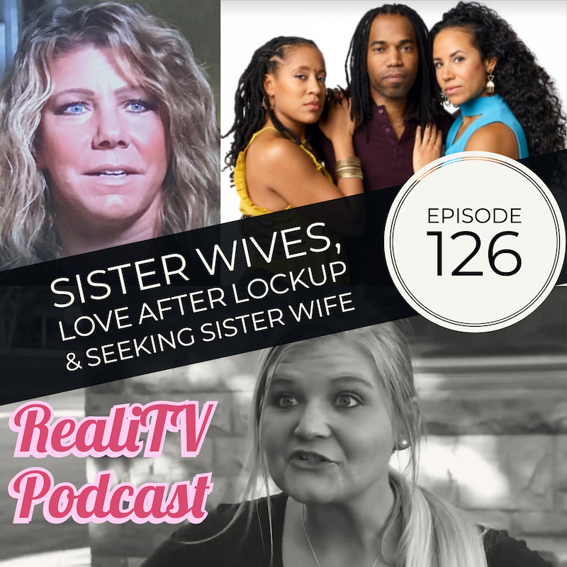 "Episode 126: Sister Wives, Love After Lockup & Seeking Sister Wife 01.31.19 - First up, Lady Gaga at the SAG Awards and which 2 celeb couples I think are faking it. Also, a crazy chick tattoos her face with Harry Styles' mug, Rami Malek lovin, updates on the Briney Family, Fyre Festival shit talking, AND Lohan Beach Club!Then I dive into Love After Lockup, Seeking Sister Wife, and I spill my thoughts on Sister Wives Meri Brown's ""B&B"" in Parowan. Emphasis on the quotation marks because I tracked down some old documents that shed some light on Meri's longterm plan. Hmmm….NEW podcast at www.patreon.com/amandaandjodie YOU pick the shows, YOU name the podcast, WE watch it & break it down!Visit www.dropps.com/realitv and enter REALITV to get 30% off your first month!GreenChef is delicious & affordable! www.GreenChef.us/realitv gets you $50 off your first box!"