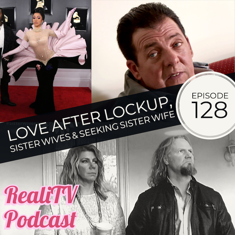 "Episode 128: Love After Lockup, Sister Wives & Seeking Sister Wife 02.14.19 - The Grammy Awards brought out some insane ""fashion"", while the Big Brother House kicked out 2 players. Over on 60 Days In, an inmate inspires a group mediation and the womens' pod sees some shenanigans going on with the guards. There are a few new shows on Netflix that I've been binging, as well as a podcast that has given me reason to ignore all household obligations.This week on Love After Lockup , Clint asks a lawyer how to use a telephone and Scott, per usual, talks to a wall. Sister Wives saw another engagement, this time without street tacos and tres leches. Mexican Hot Chocolate-themed showers are TBD. On Seeking Sister Wife, I start smelling a few rats. Not just the skating rink kind, the liar liar poly-pants on fire kind.Bonus Episodes, ad-free episodes, free merch & more at www.patreon.com/realitvpodTotal Request Podcast at www.patreon.com/amandaandjodie YOU request the shows, WE watch them & break em down!Get help on your own time & find the perfect counselor for you at Better Health! www.betterhealth.com/realitv saves you 10%!Zola wants you to love the way you love! Get $50 off your registry at www.zola.com/realitv"