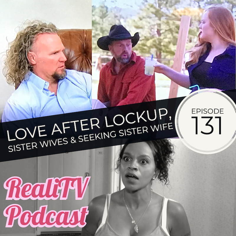 "Episode 131: Love After Lockup, Sister Wives & Seeking Sister Wife 3.07.19 - First up, shit has gone down on 60 Days In, so thank RBG I just increased my anxiety meds. Real Housewives of Beverly Hills has started back up & I have some unpopular opinions about the most popular ladies. I won't apologize!Love After Lockup and I are friends again after a stellar episode this week. Sarah reminds us of her linguistic dexterity while Lizzie delights us with her culinary ability. A week without seeing Kody's hair made Sister Wives extra special this week. Emphasis on ""special"". After several tours of Flagstaff and TREES TREES TREES, we catch up with the families on Seeking Sister Wife. Turns out the Snowdens are not only ontological architects, they're also MDs with a speciality in Obstetrics & Douchebagery.Get help on your own time & find the perfect counselor for you at Better Health! www.betterhealth.com/realitv saves you 10%!"