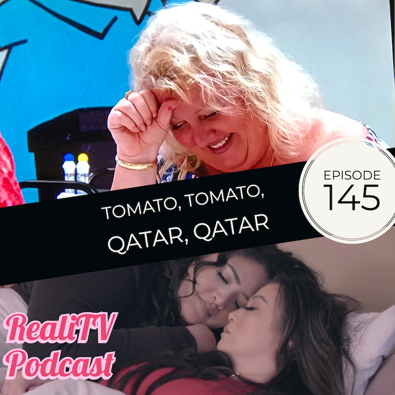 Episode 145: Tomato, Tomato, Qatar, Qatar - I said I was going to take the week off, but I have things to spread the word about (see below). So, that means you're getting recaps of 90 Day Fiance The Other Way and Smothered!Please help Dave find a donor @bolg5 everywhereCheck out the IG I talk about @thesweetestfeminist*Total Request Podcast at www.patreon.com/amandaandjodie YOU request the shows, WE watch them & break em down!