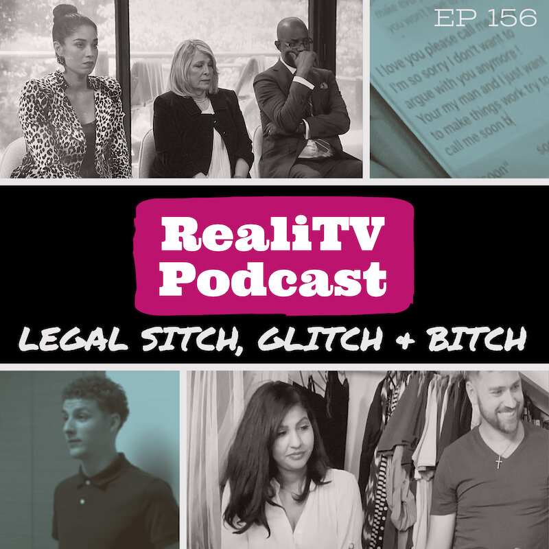 "Episode 156: Legal Sitch, Glitch & Bitch 09.19.19 - What a time to be alive! Mike ""The Situation"" Sorrentino is a free man and he pulled a very Love After Lockup move. I've got my eye on the Sister Wives living situation (see what I did there) as well as Amber from Teen Mom.Over on Married at First Sight, the couples decide if they want to stay married or get divorced but Dr. Pepper get drunk either way. Lacey is a shady bitch on Love After Lockup and McKayla gets my blood pressure to new levels on this week's Unexpected. Saving the best for last, 90 Day Fiance The Other Way really brought it this week!!SUBSCRIBE, SHARE & LEAVE A 5-STAR REVIEW!*Total Request Podcast at www.patreon.com/amandaandjodie YOU request the shows, WE watch them & break em down!"