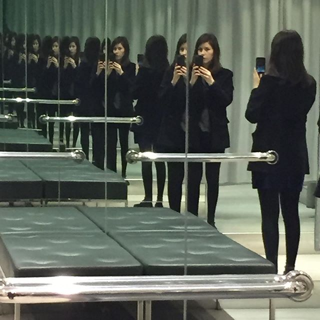 . . . . #repetition #mirrors #clones