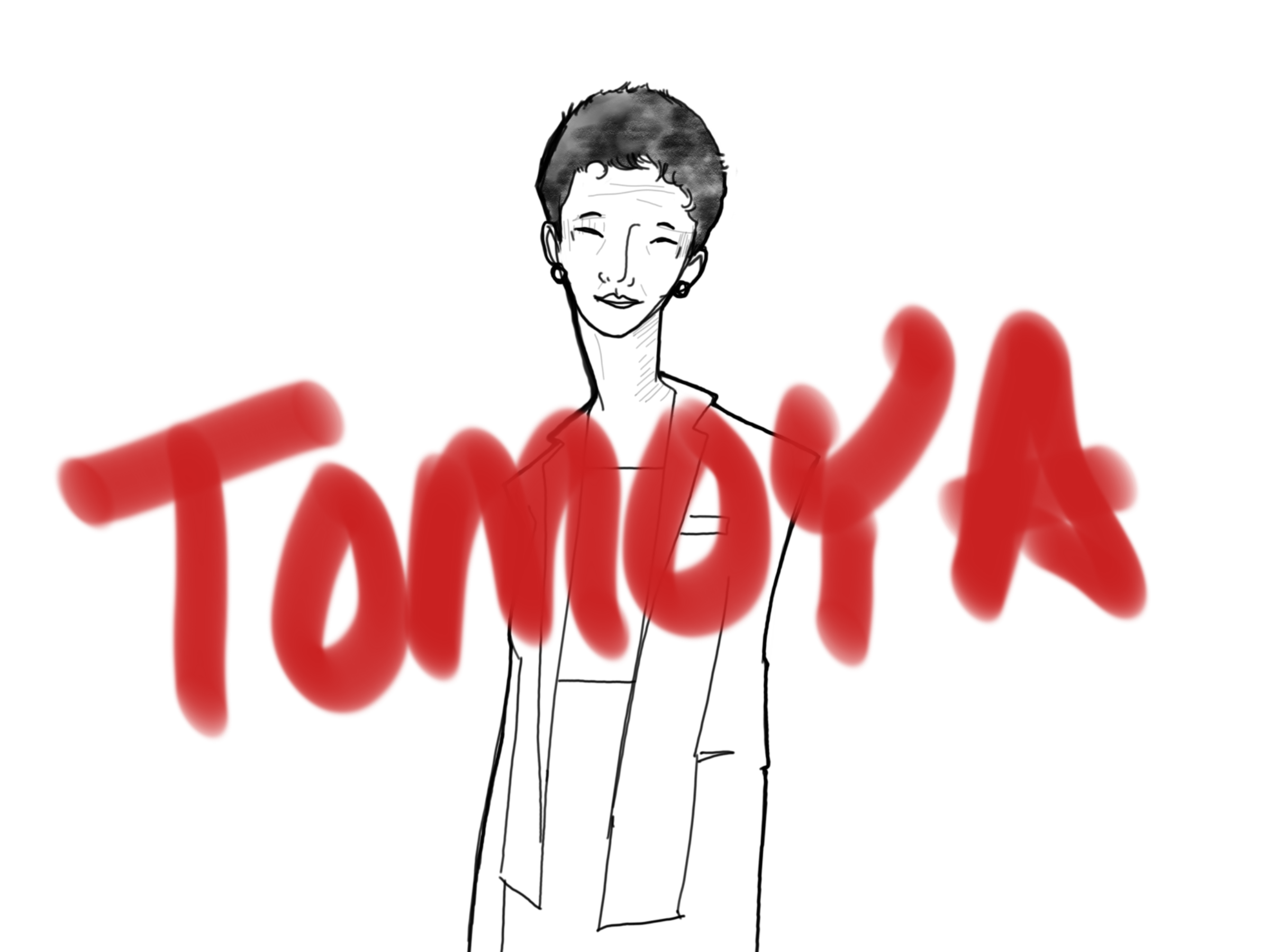 Tomoya is the name that connects across my mother and my Obachan.