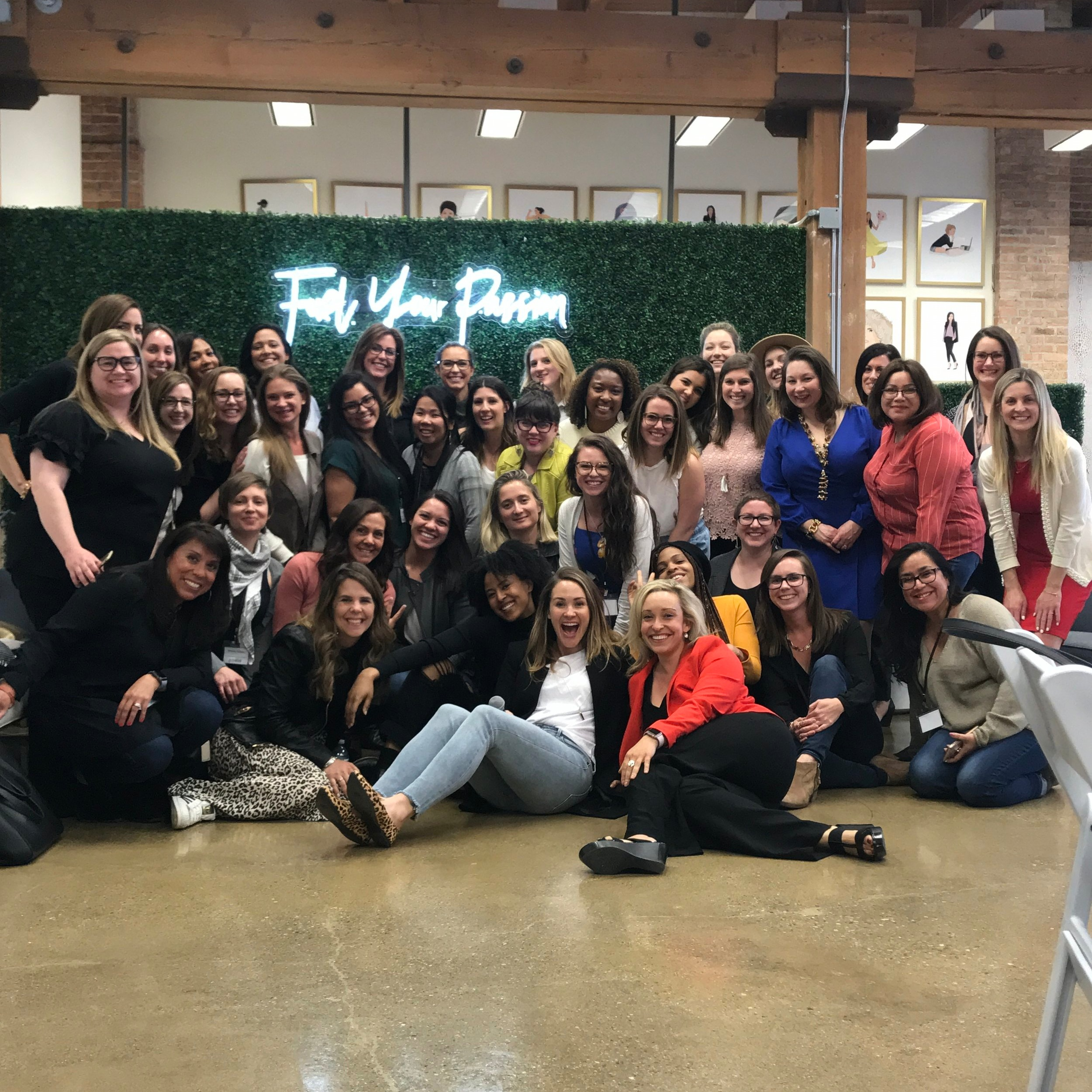 The incredible ladies of Emerging Entrepreneur from the 2019 She Did It Her Way Summit