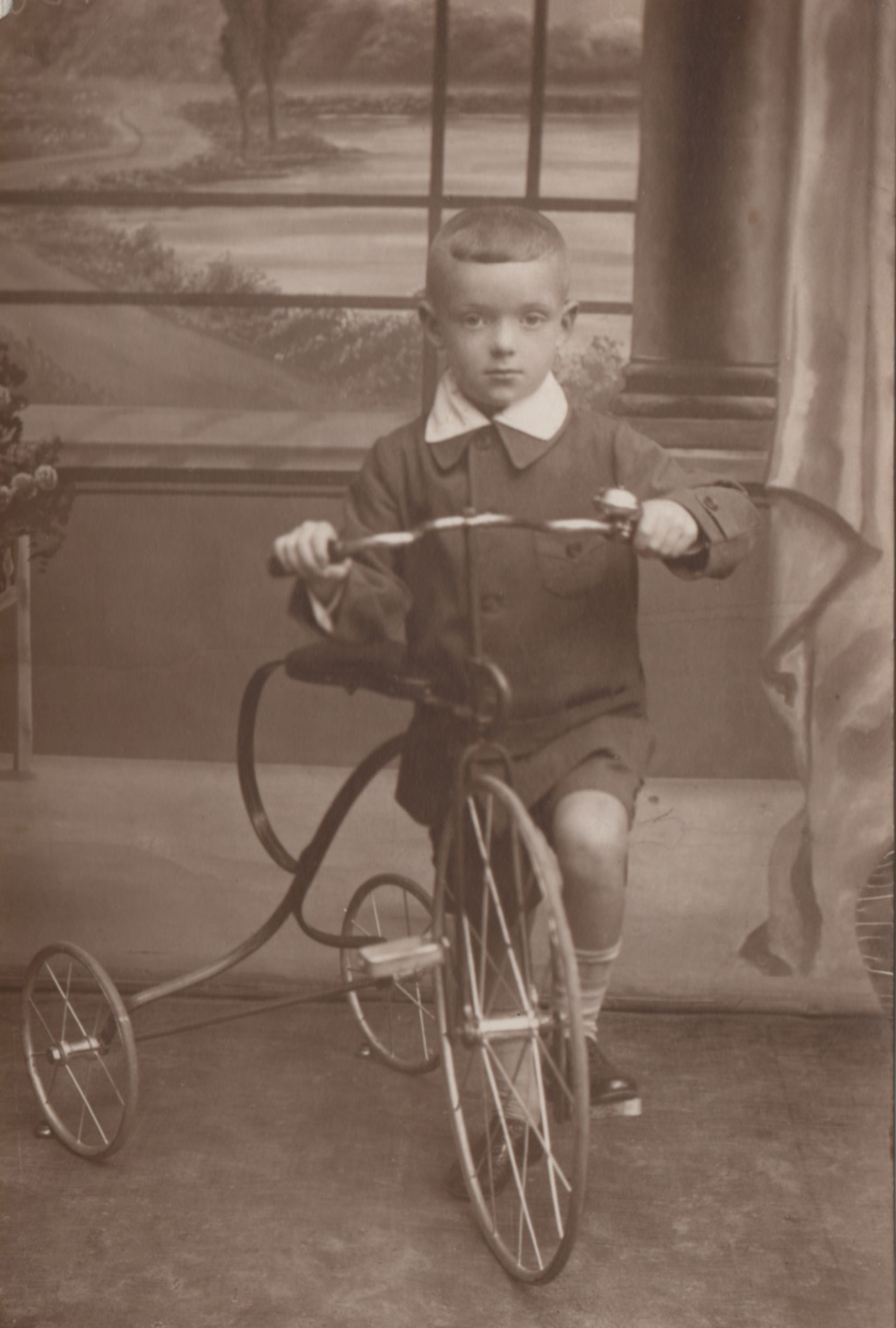My father, Edward Hawthorne (then Yitzhak Herszkorn), as a boy in prewar Grojec, Poland