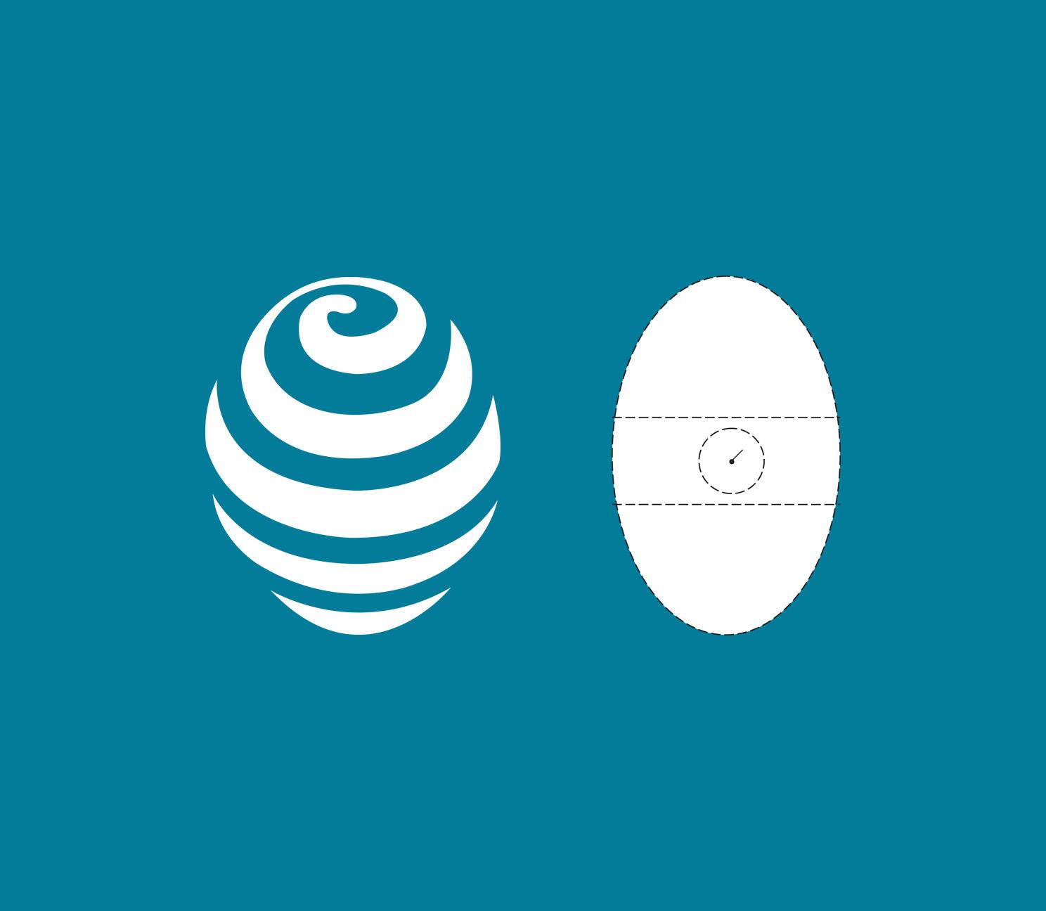 - Vår logotype symboliserar den modell över psykets olika delar som Roberto Assagioli skapade;