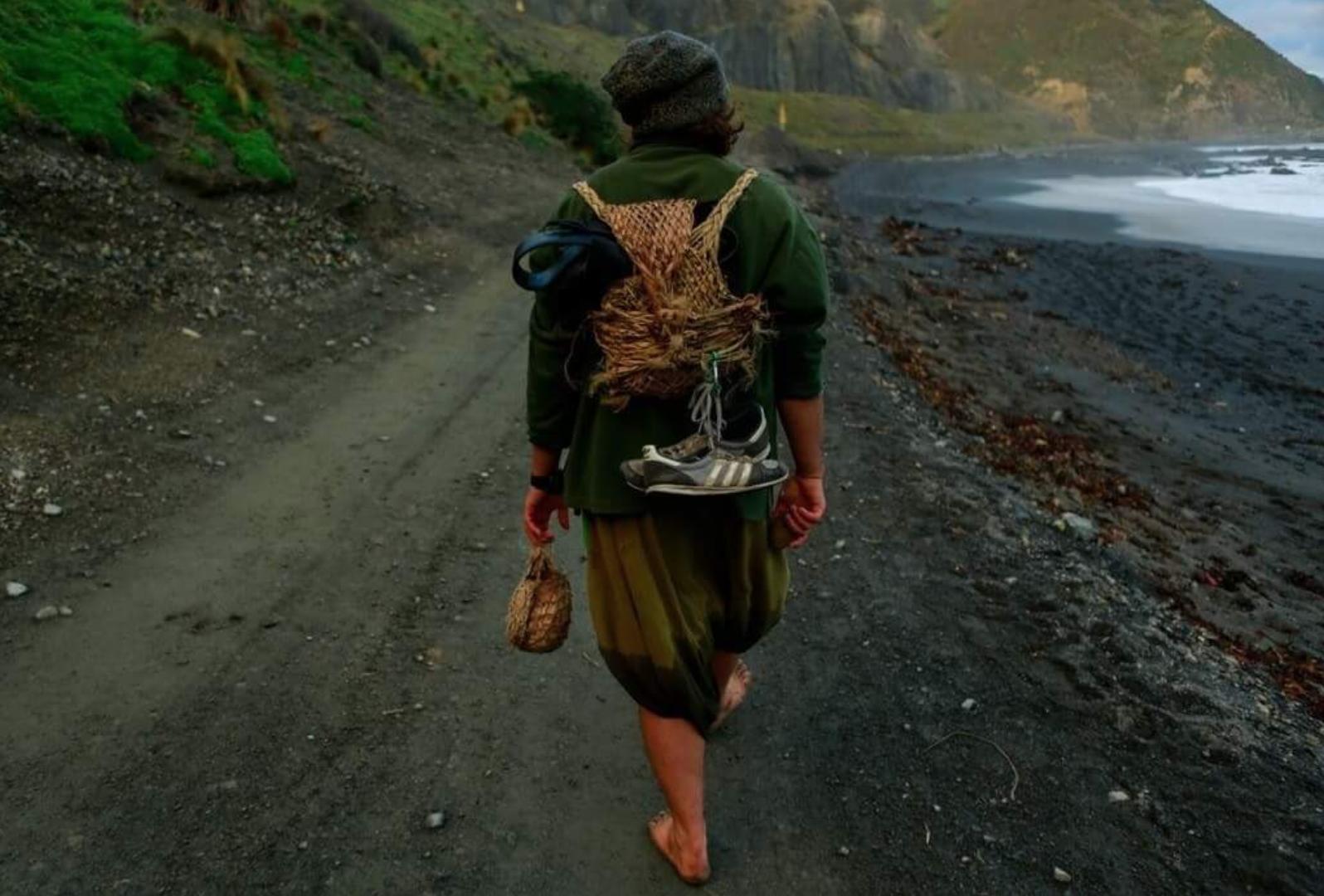Jory walking the Te Araroa Trail