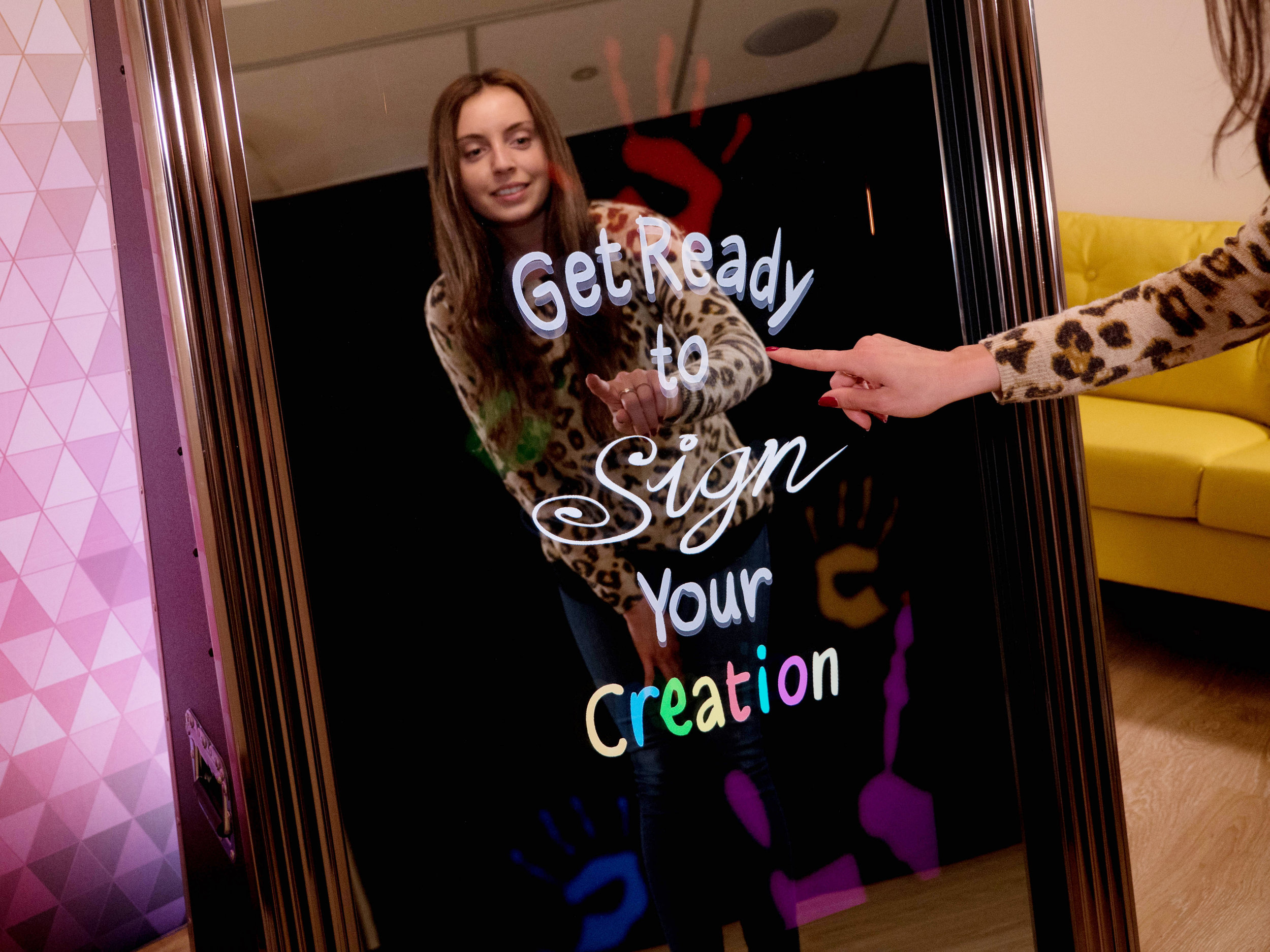 Photo Booth Interactive Mirror Squamish Wedding