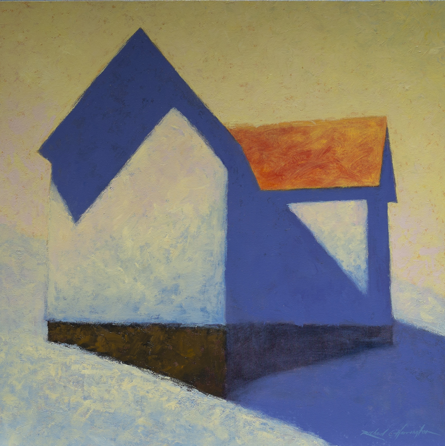 Winter, oil on canvas, 36 x 36 inches. Available through  RARE Gallery of Fine Art .