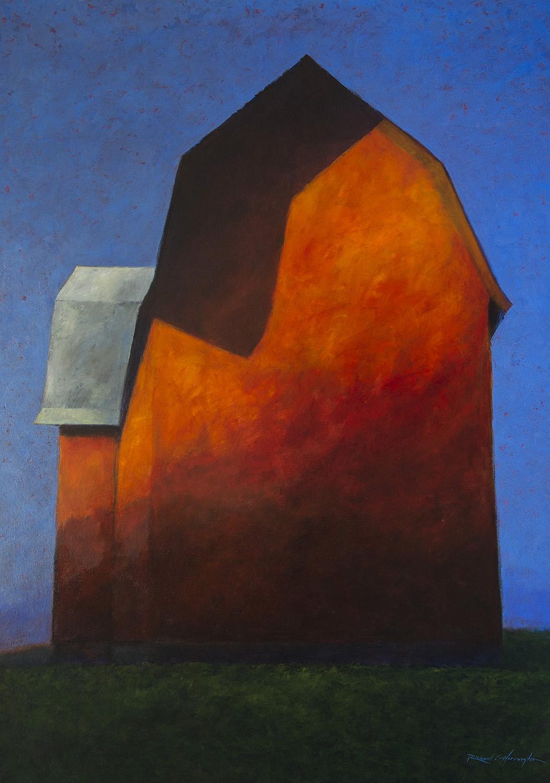 Evening Shadows, oil on canvas, 72 x 52 inches. Available through  Xanadu Gallery.