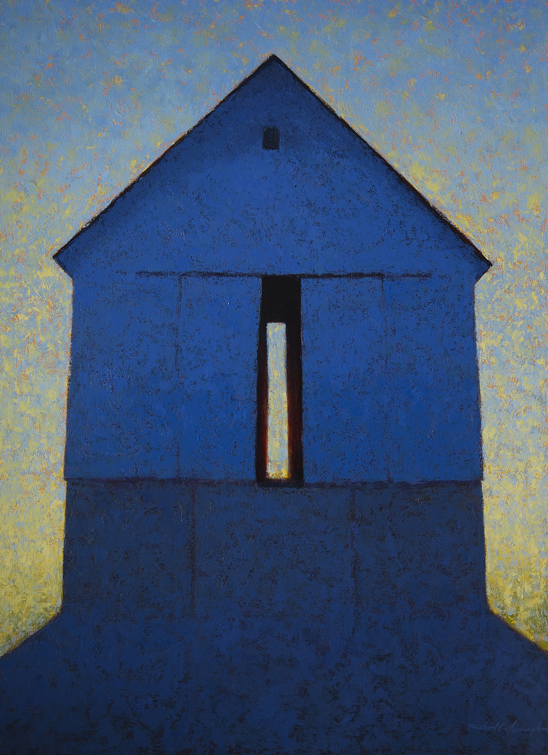 Lee's Barn, 66 x 48 inches, oil on canvas. Available through  Xanadu Gallery .