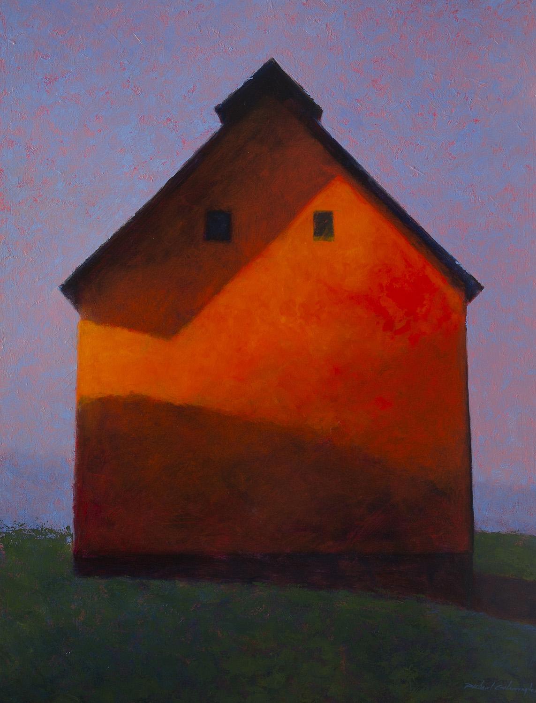 Shadows at Dusk, 56 x 42 inches, oil on canvas. Available through  Xanadu Gallery .