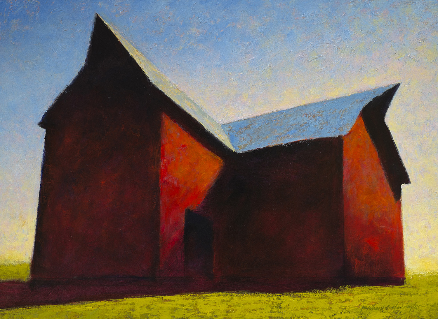 Late Afternoon, oil on canvas, 30 x 40 inches. Available through  Xanadu Gallery .