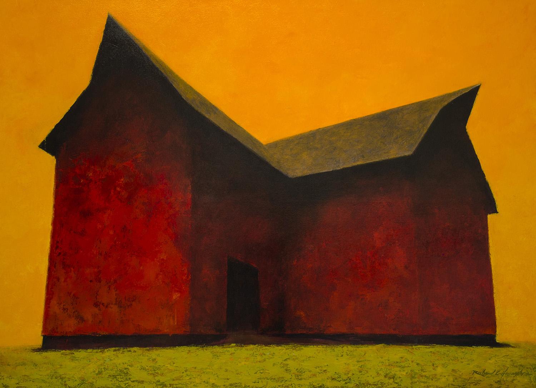 Summer Heat, 48 x 66 inches, oil on canvas. Available through  Xanadu Gallery .