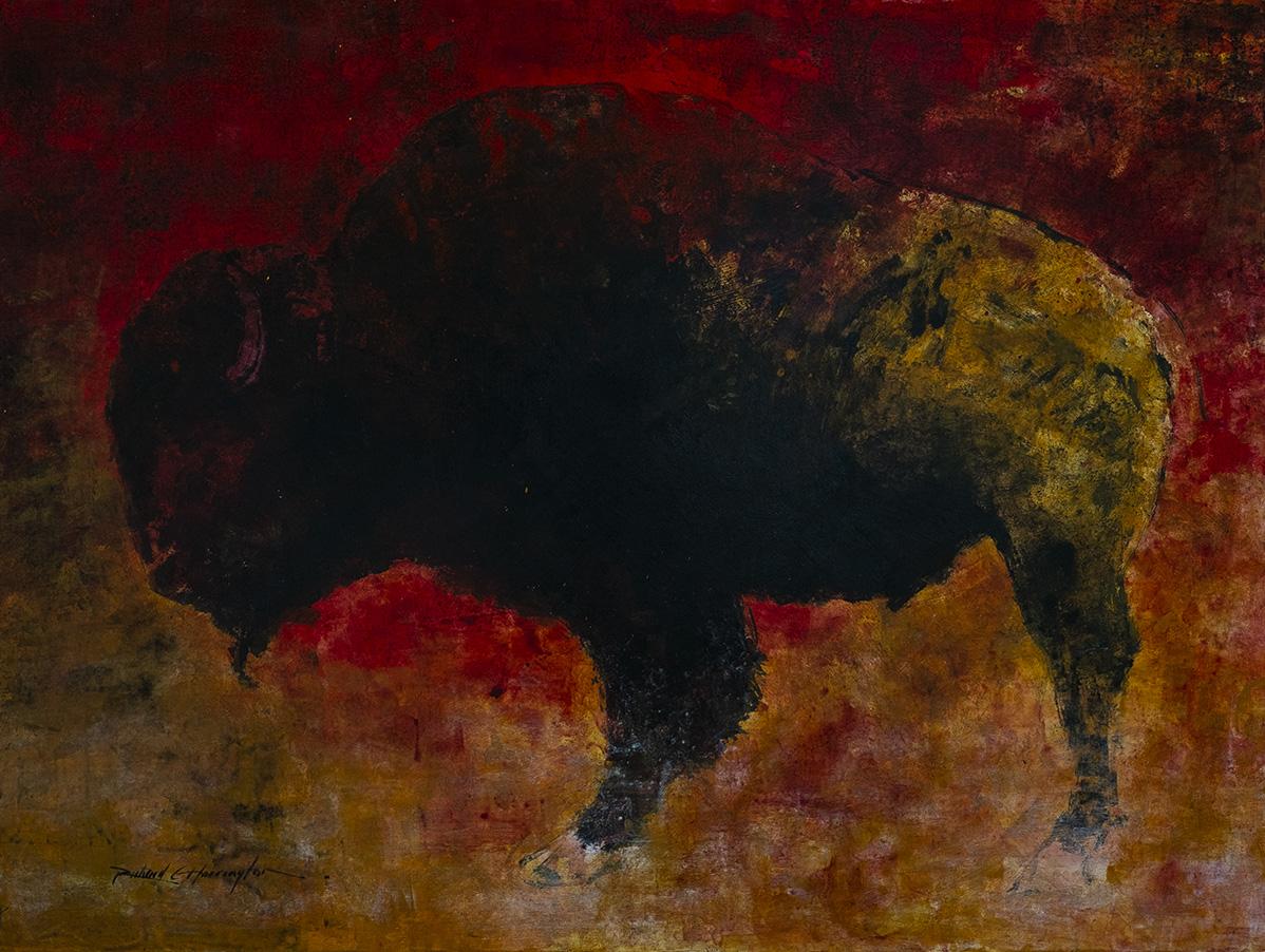 Buffalo, 36 x 48, acrylic on panel. Available through artist.