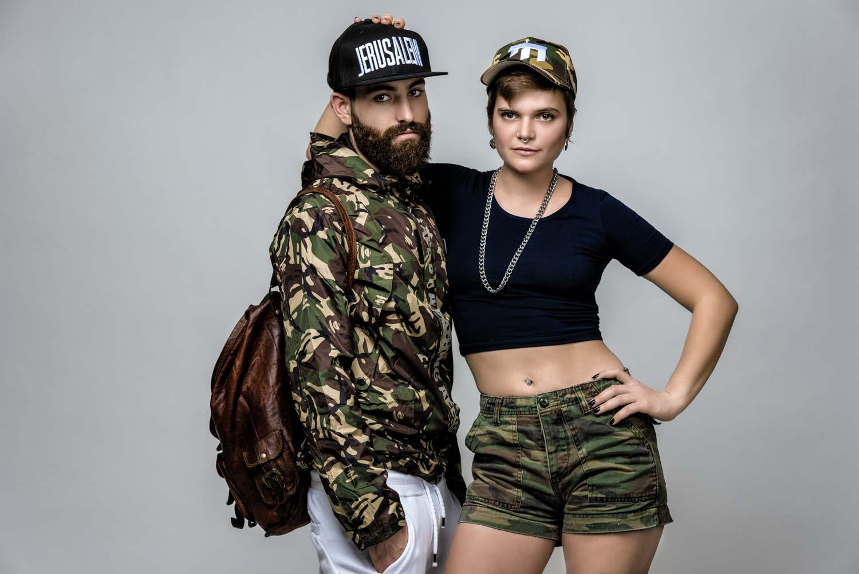צילום אופנה למותג כובעים ישראלי
