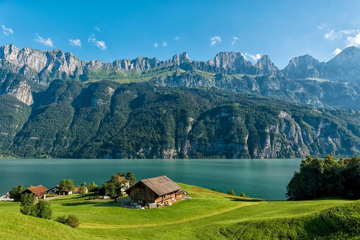 ניתן ללחוץ על התמונה לרכישת תמונה לסלון או מוצר לעיצוב הבית. שוויץ. צילום : ניר רויטמן