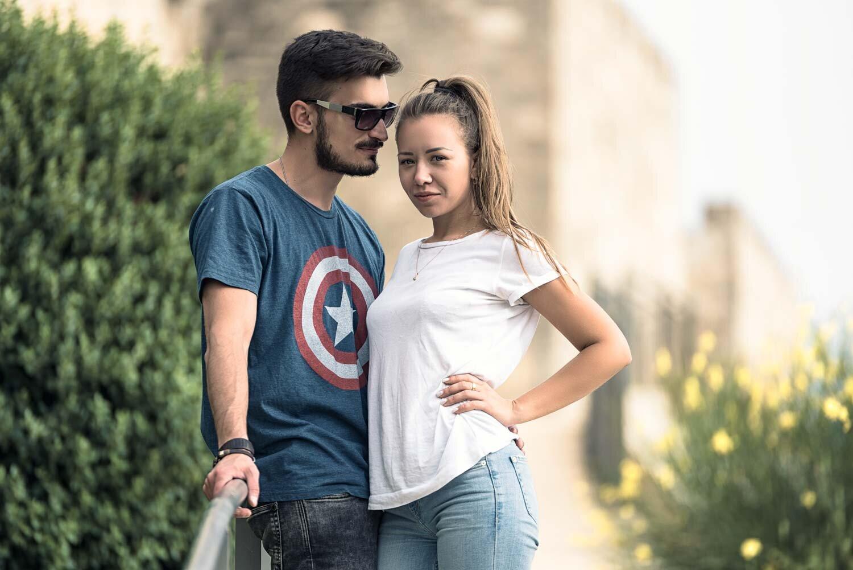 צילומי חוץ עם זוג