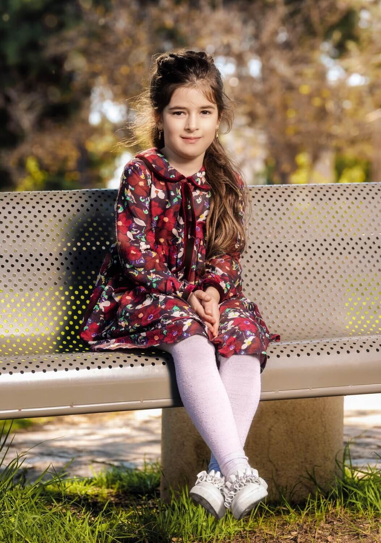 צילומי משפחה : צילום של ילדה