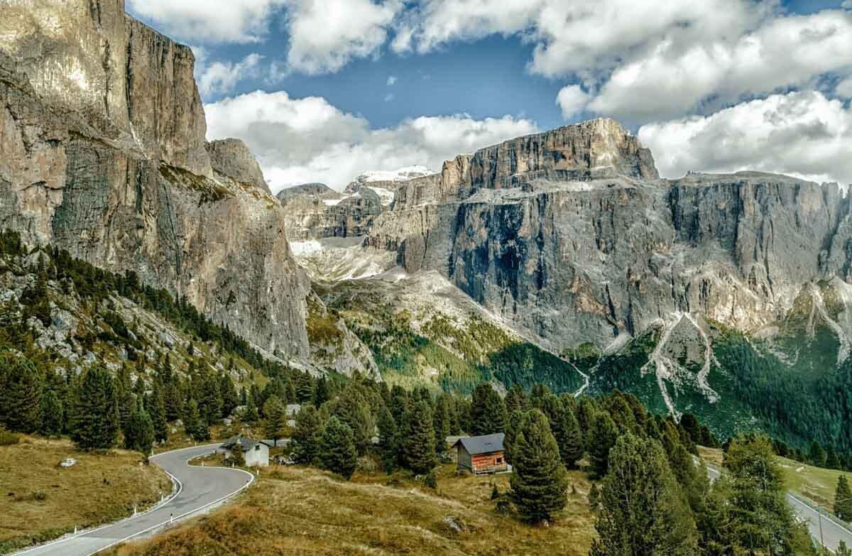 הרי הדולומיטים - צילום נוף : ניר רויטמן. ניתן ללחוץ לקניית מוצרים מודפסים.