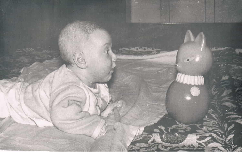 זה אני בתור תינוק