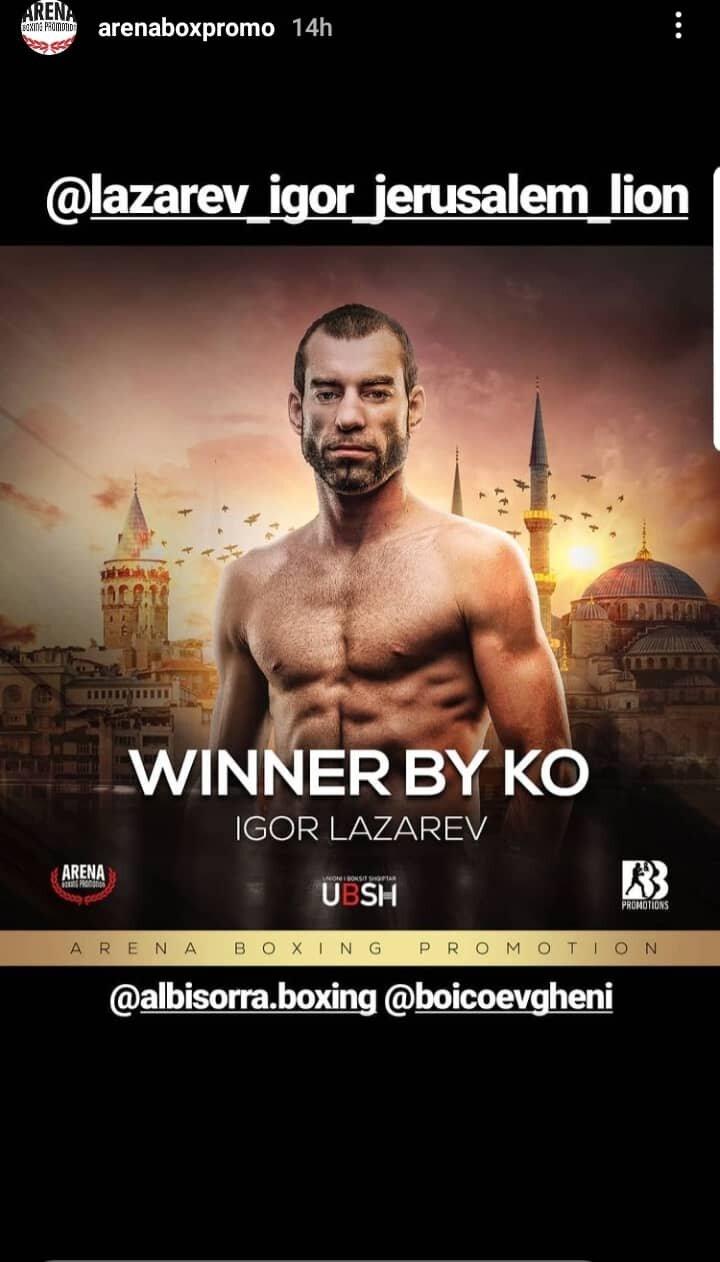 Igor Lazarev win boxing match - ko.jpg