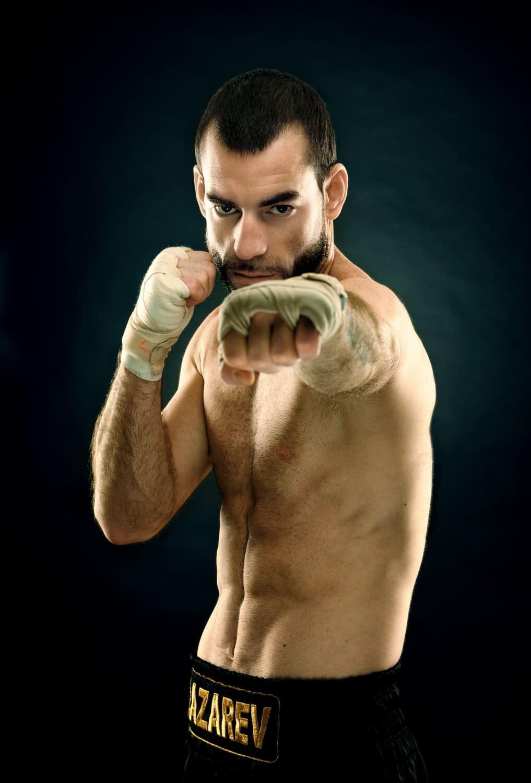 צילום תדמית למתאגרף איגור לזרב- (Igor Lazarev)
