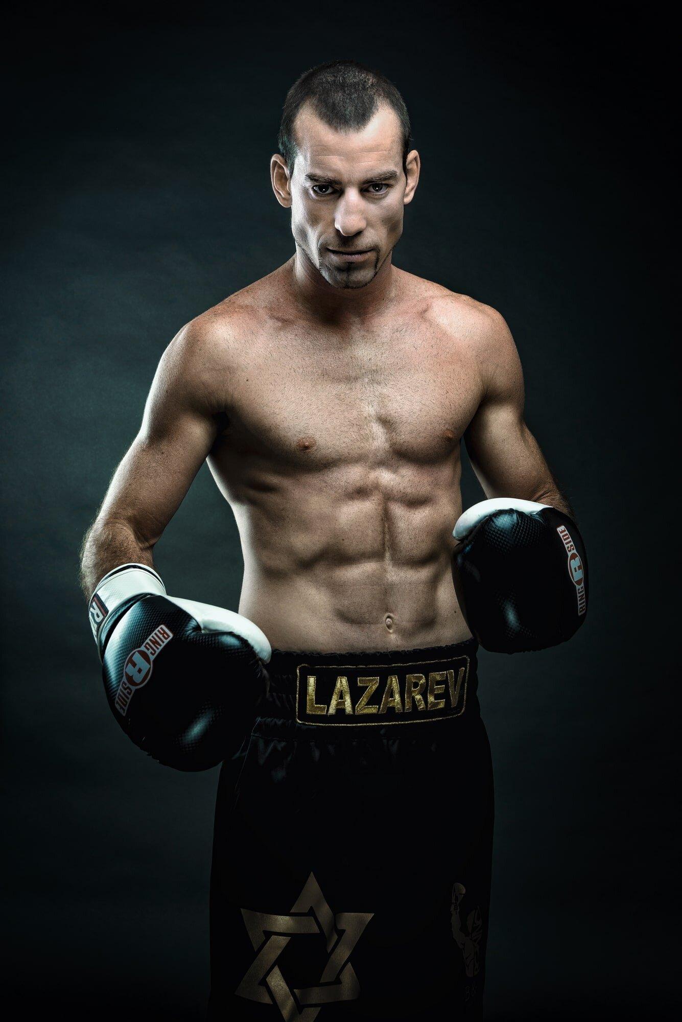 צילום תדמית למתאגרף מקצועי : ניר רויטמן