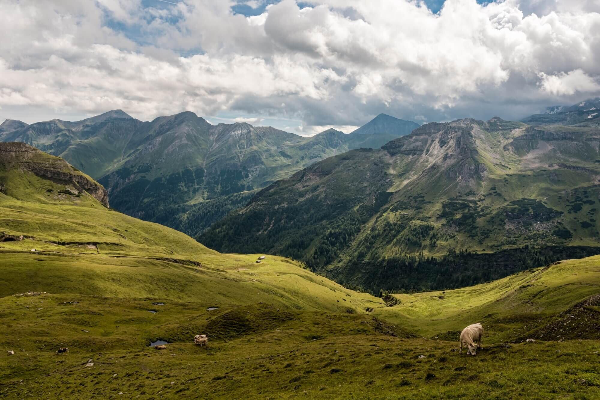 - גרוסגלוקנר אוסטריה -  Grossglockner valley, Austria