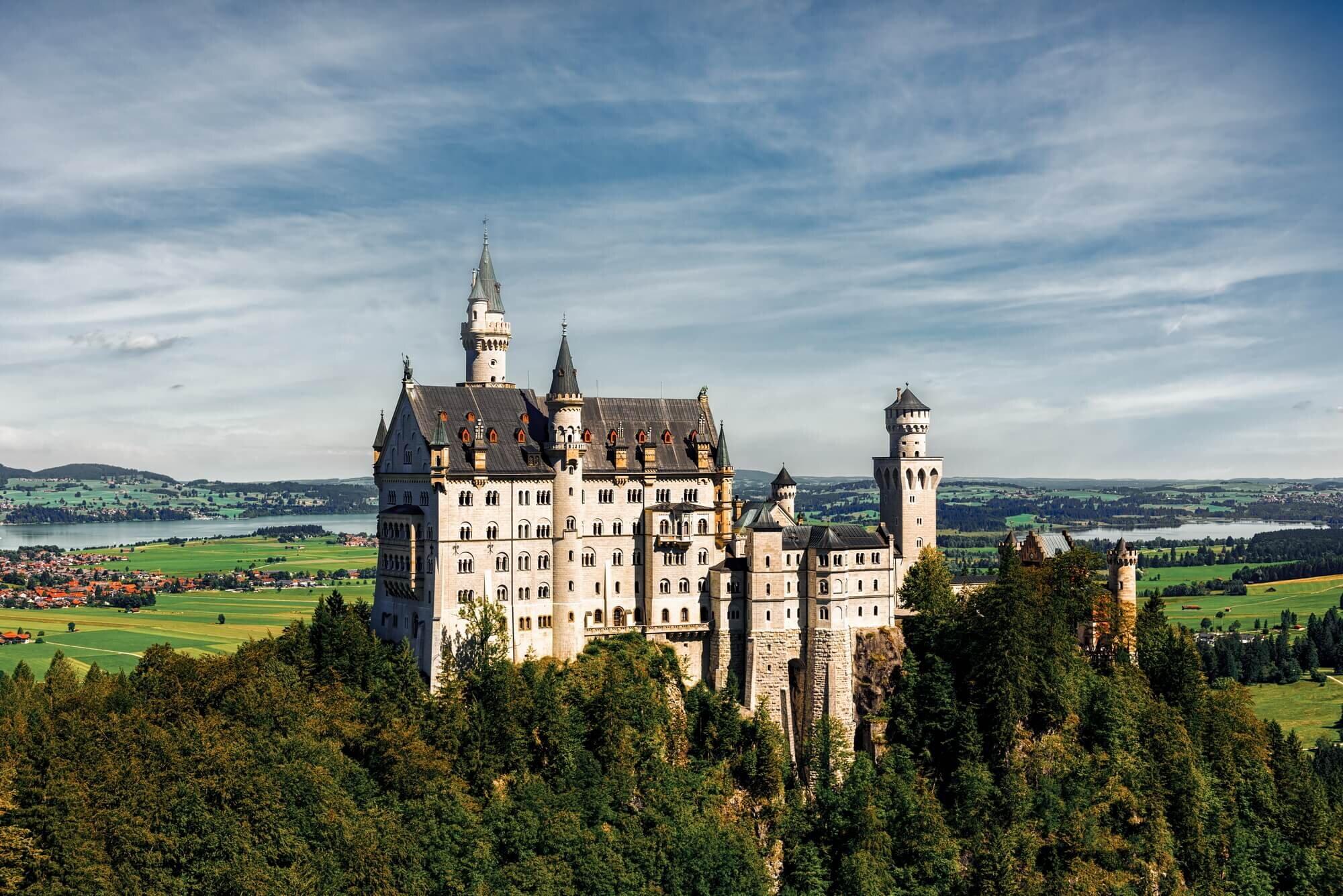טירת הברבור, גרמניה - Schloss Neuschwanstein