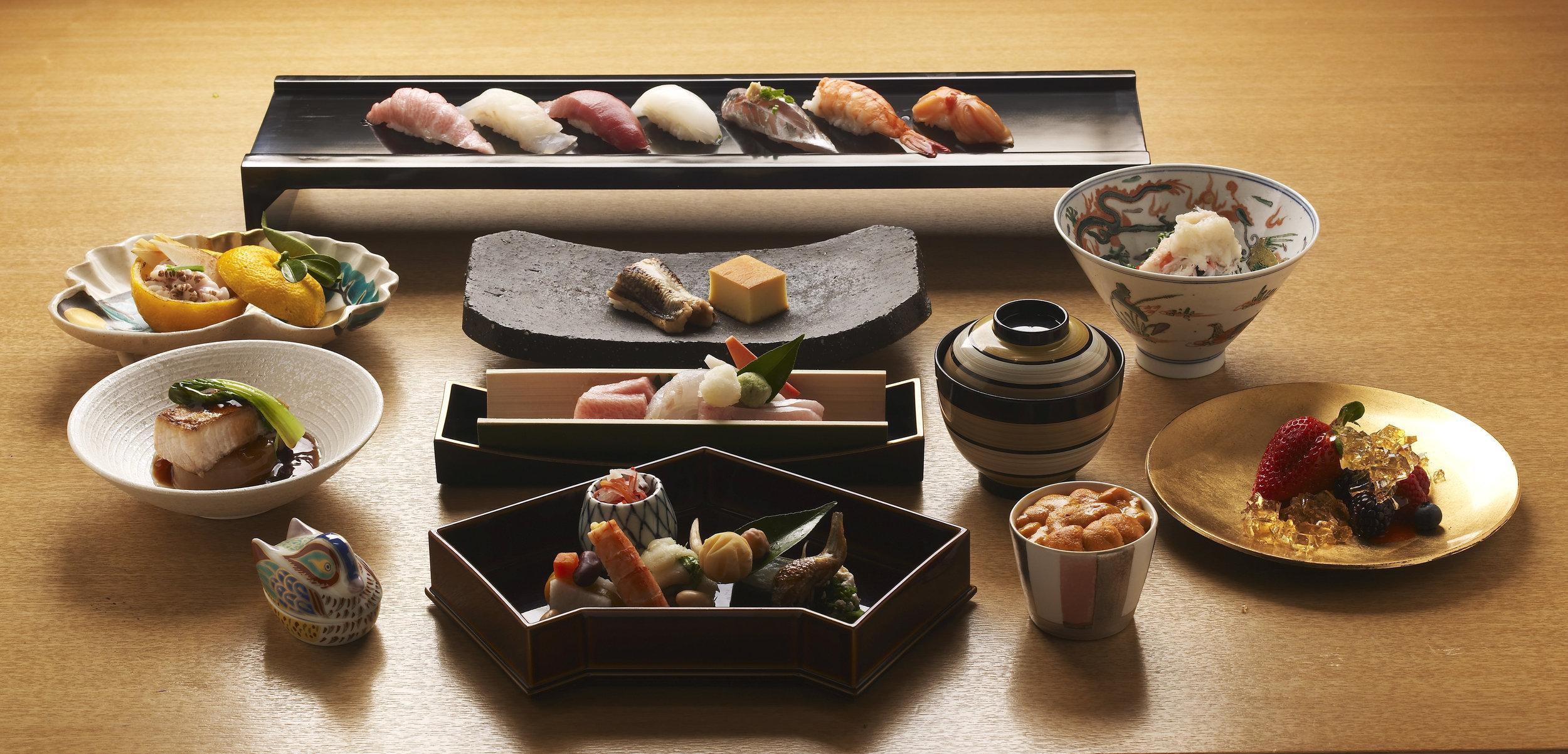 kaiseki/japanese cuisine