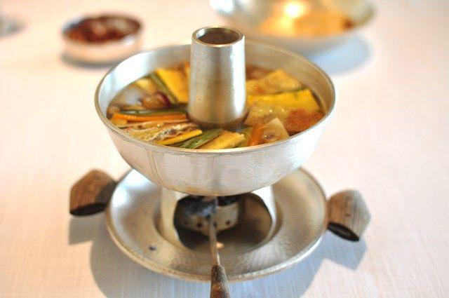 korean surasang/ sinseollo royal hot pot