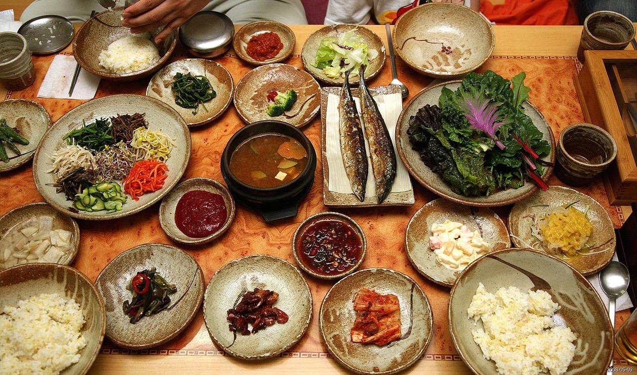 korean cuisine/main course & banchan