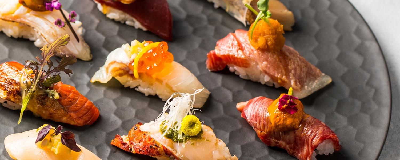 o-nigiri sushi platter