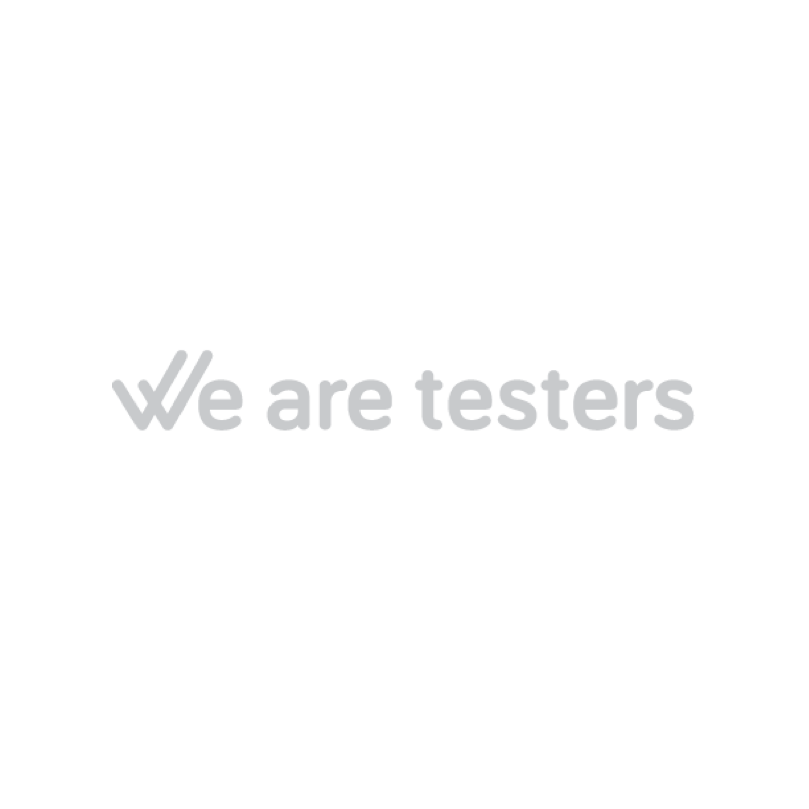Copy of We are testers Logo
