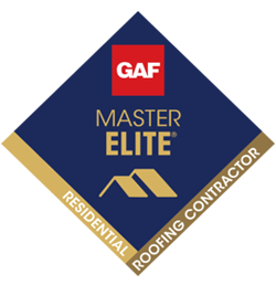 GAF Master Elite® Certification  Because of stringent GAF standards, less than 2% of all roofing contractors have qualified as a Master Elite® Contractor!