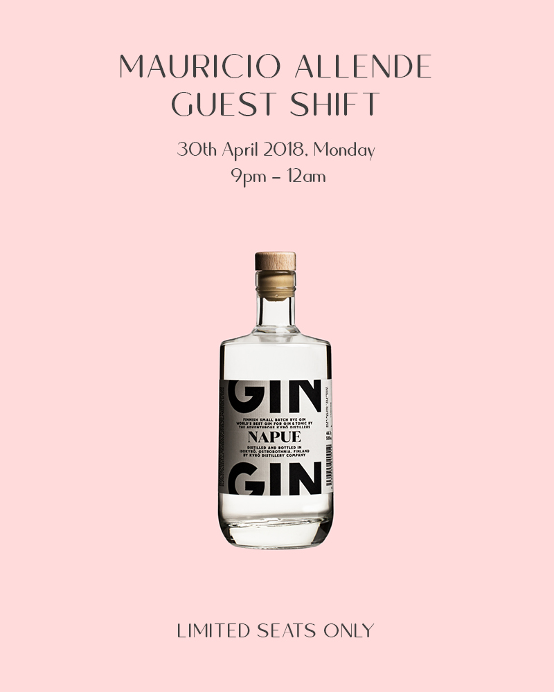 Napue & Golden Shower: Guest Shift with Mauricio Allende