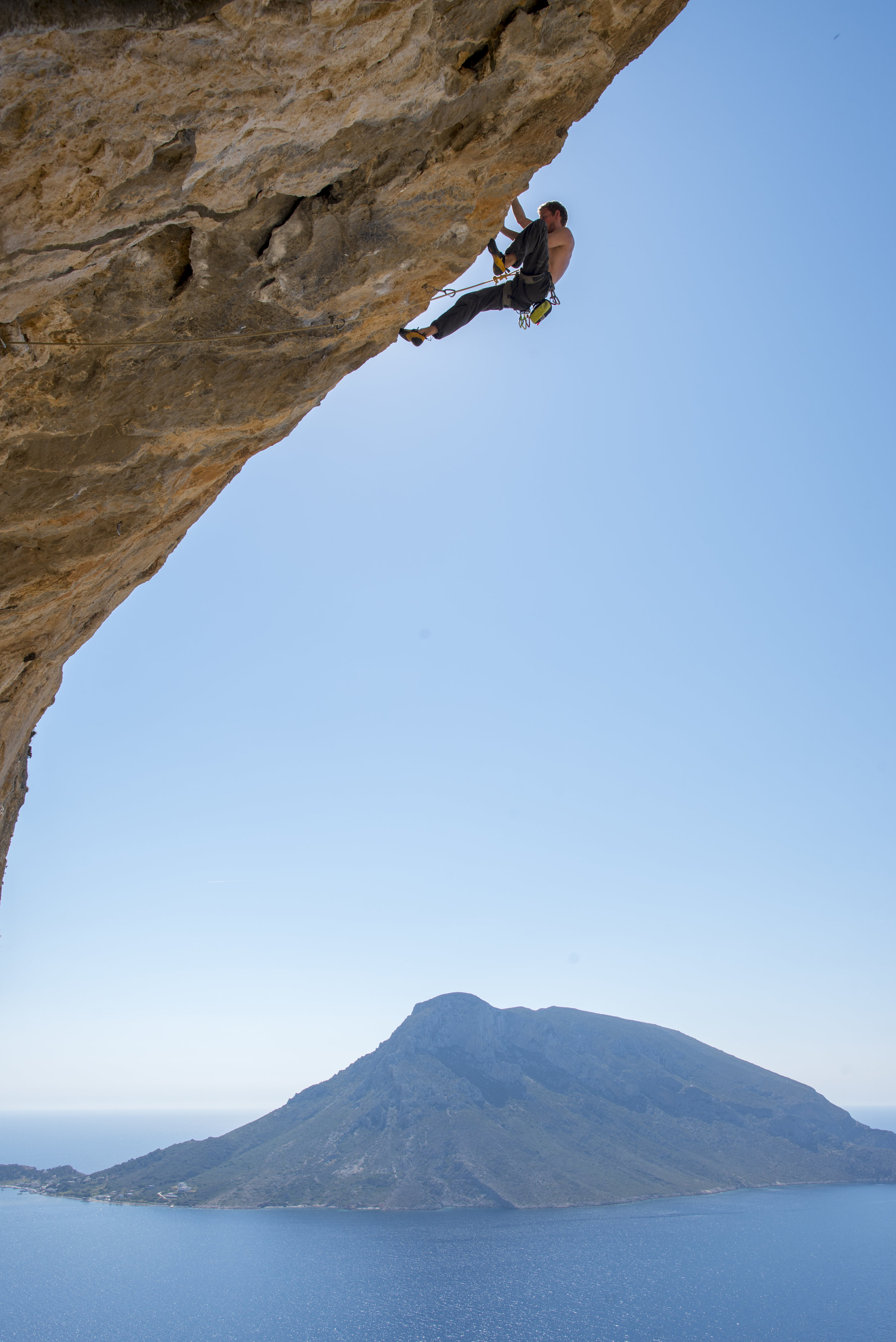 Orion 7c+ in Kalymnos, Greece  Climbing, adventure