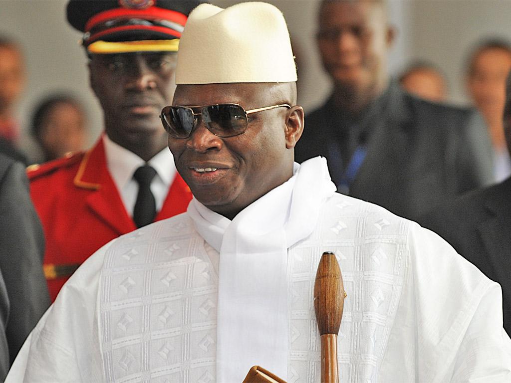 -                                        Former President Jammeh                                     1994-2016*